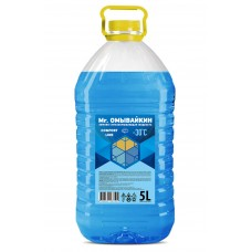 """Незамерзающая жидкость """"-25"""" (25% спирта), ПЭТ 5л"""