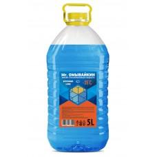 """Незамерзающая жидкость """"-35"""" (35% спирта), ПЭТ 5л"""
